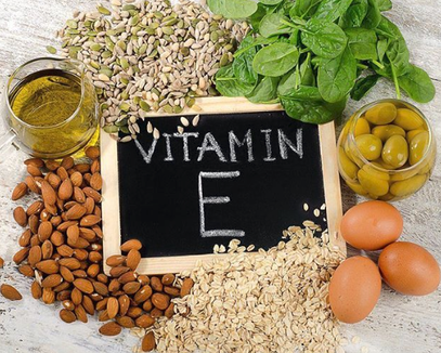 Vitamin E- Food sources.