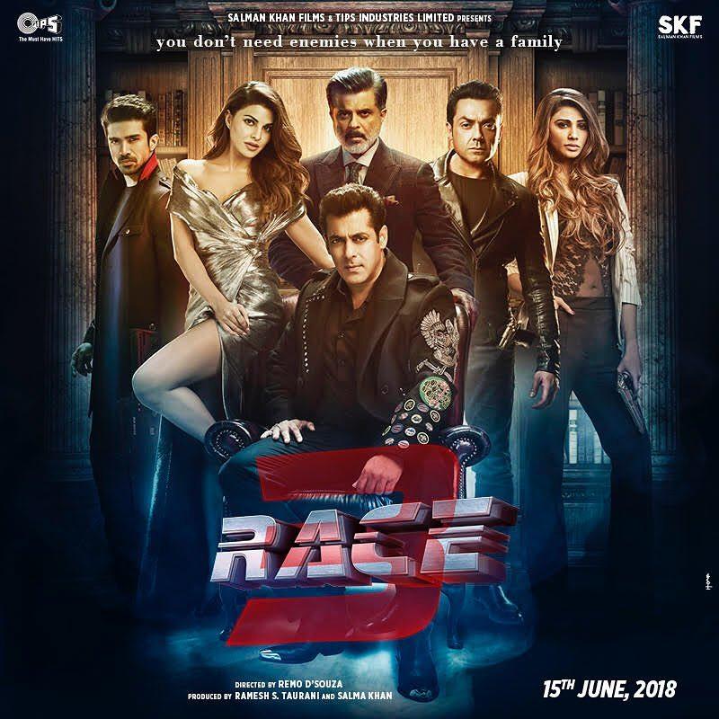Race 3 movie release date: June 15th,2018  - Stunmore