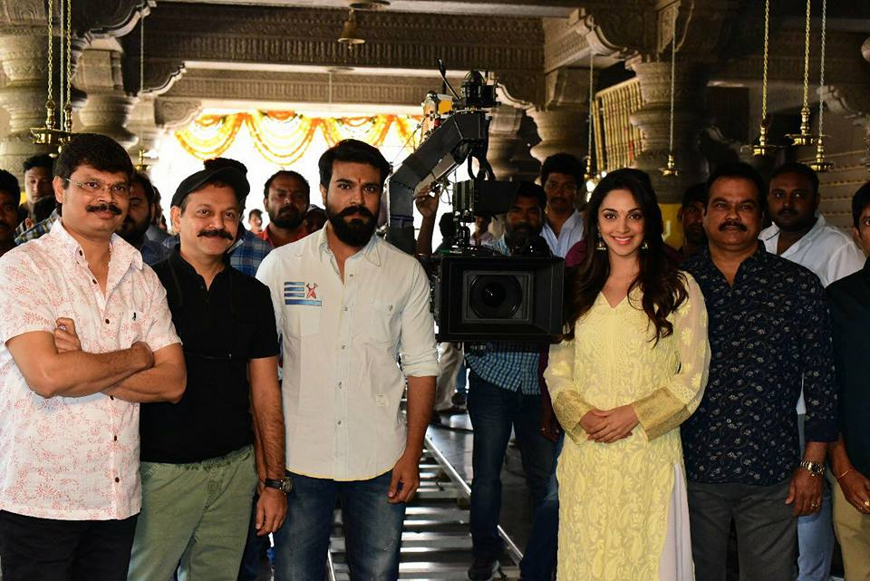 Ram Charan 12th movie launched in direction of Boyapati Srinu.