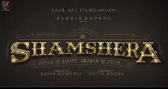 Shamshera Hindi movie updates.
