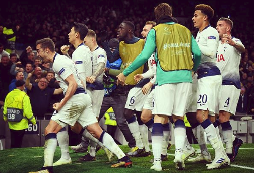 Tottenham Hotspurs won over Manchester City [1-0]