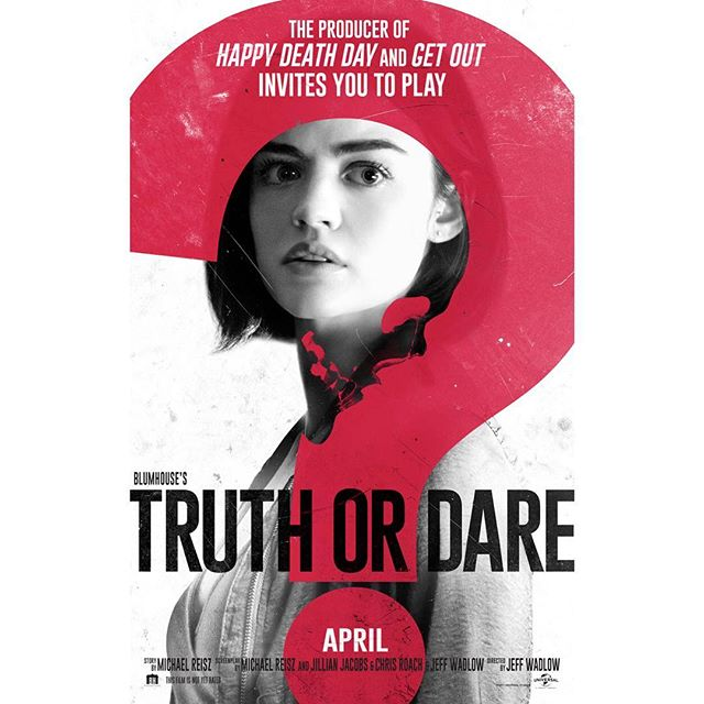 Blumhouse's Truth or Dare movie release date: april 13th,2018.