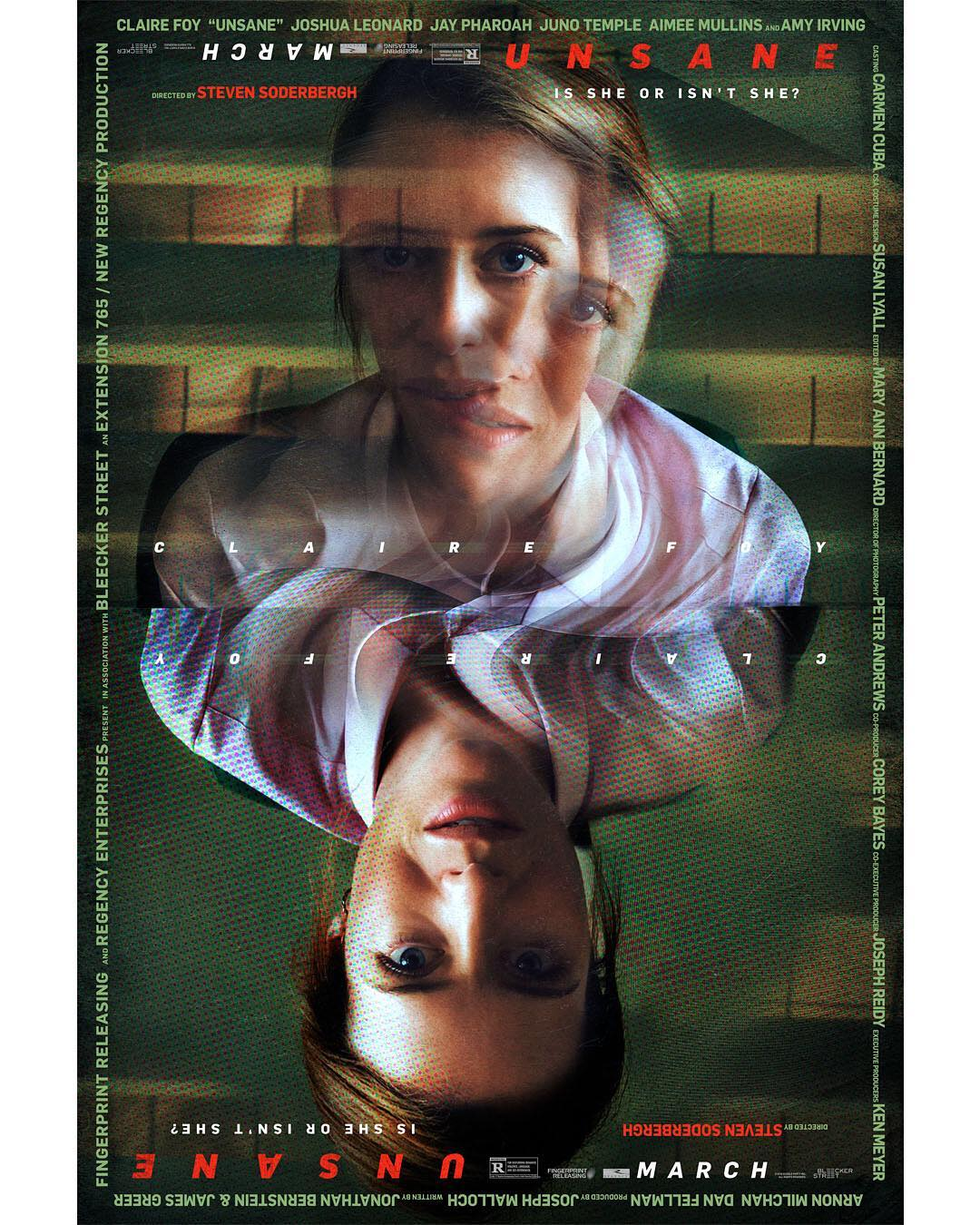 Unsane movie release date: March 23rd,2018.