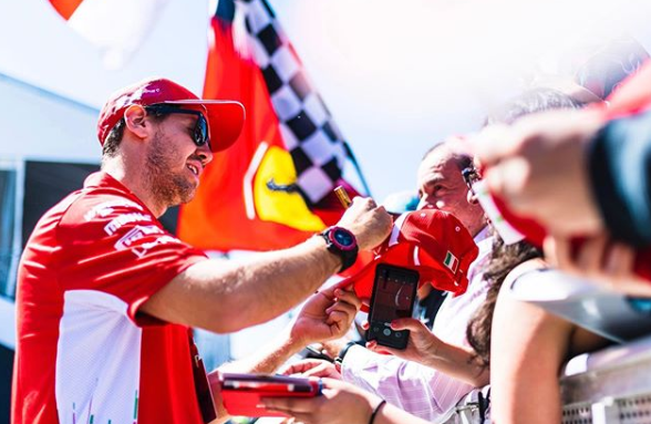 Vettel at Canadian Grand Prix 2019